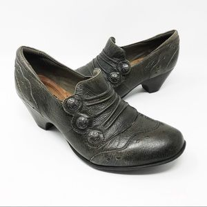 Cobb Hill Birch Denise Antiqued Leather Booties 7M